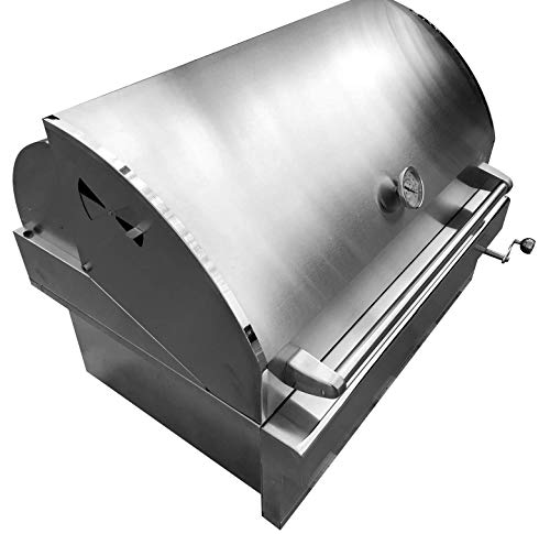Barbeques Galore Turbo Charcoal Built-In Grill