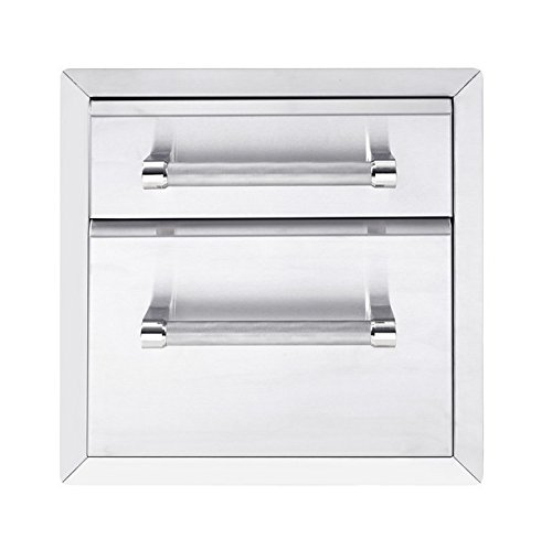 KitchenAid 780-0017 Built-in Grill Cabinet Drawer Storage, 18″, Stainless