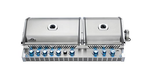 Napoleon BIPRO825RBINSS-2 Prestige PRO 825 Built-In Natural Gas Grill with Infrared Rotisserie