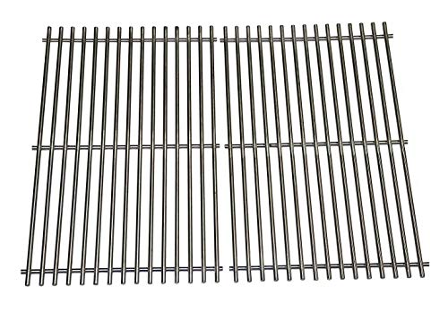 Hongso 19.5″ 304 Stainless Steel Grill Grates Replacement for Weber Genesis E and S Series 300 E310 E320 S310 S320 Gas Grills, A Set of 2 Cooking Grates (SCG528)
