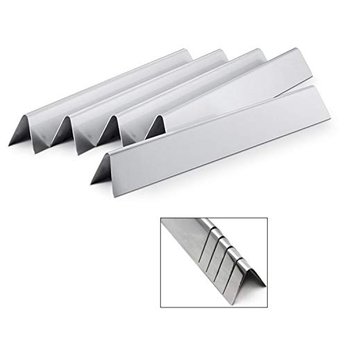 Direct store Parts DP103 Stainless Steel Flavorizer Bars /Heat plates Replacement Weber Stainless Steel Flavorizer Bars 7537, # 9817,7537 / L 22.5″ (Aftermarket Parts) (Stainless Steel heat plates)