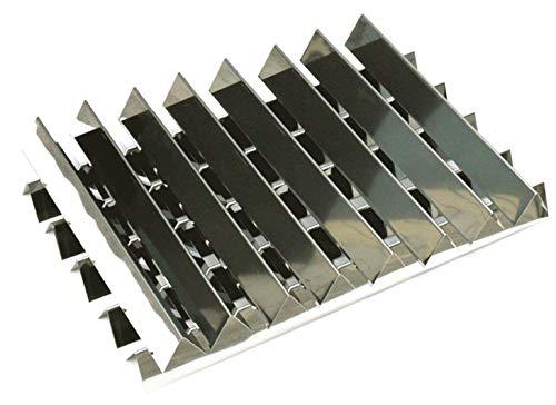 Hongso FB7538 7538 65901 Stainless Steel Flavorizer Bars for Weber Genesis I – IV & 1000-5000, Genesis Platinum I & II, Set of 13(5 pcs 23-3/8″, 8 pcs 15-7/8″, 20 GA.)