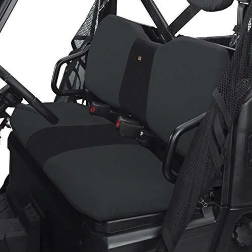Classic Accessories QuadGear UTV Seat Cover for Polaris Ranger XP/HD (Bench), Black