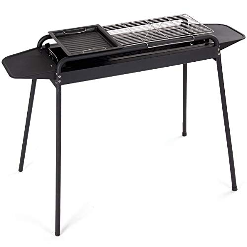 USA_BEST_SELLER Height Adjustable Outdoor Barbecue Charcoal Grill Stove Barrel Storage Smoker