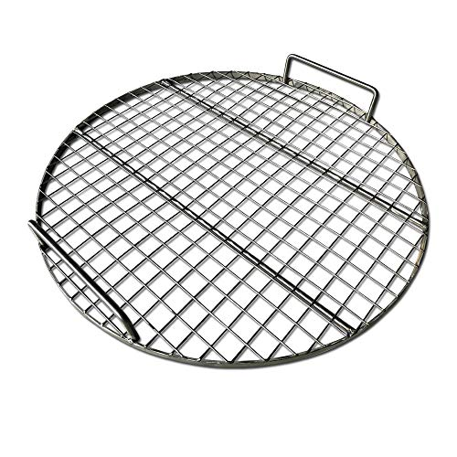 LavaLockⓇ STAINLESS STEEL 22″ inch Round Grill Grate – Fits Weber Kettle Performer Weber Smokey Mountain UDS Ugly Drum Smoker Barrel Fire pit