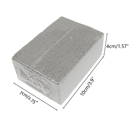 Aoutdoor Gray Pumice Grill Stone Brick Cleaner For Cleaning Grills Pans,Pack of 3
