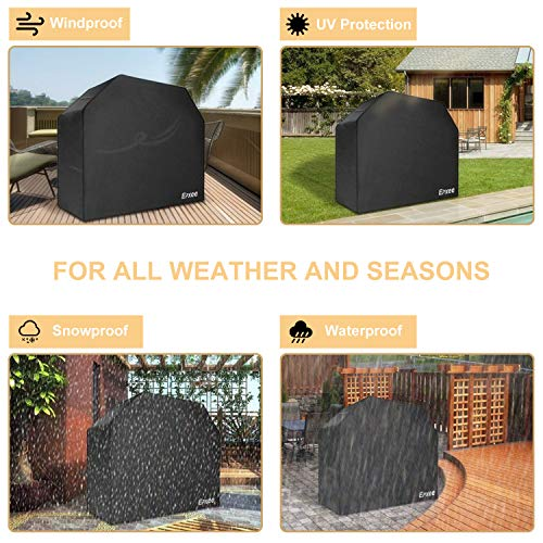 Epxee Grill Cover, Waterproof Heavy Duty Gas BBQ Grill Cover with Durable 600D Oxford Fabric, 58-Inch