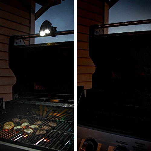 SNAP that NOW Barbecue Grill Light – Weather Resistant Super-Bright 200lm LED BBQ Lights – Grilling Accessories for Gas Barbeque Charcoal Electric Smoker Outdoors Patio & is Portable