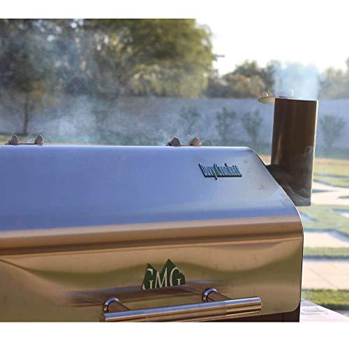 Green Mountain Grills Davy Crockett WiFi Controlled Portable Wood Pellet Grill – DCWF
