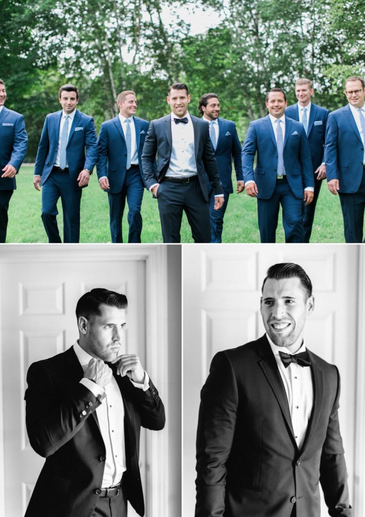 Stylish groomsmen | The Weber Photographers | Associate Photographer Megan Newman