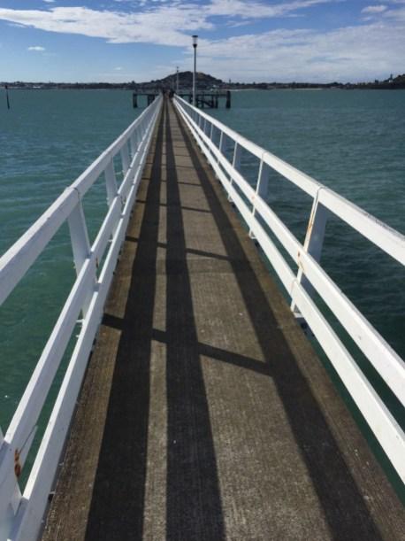 Okahu Bay Wharf