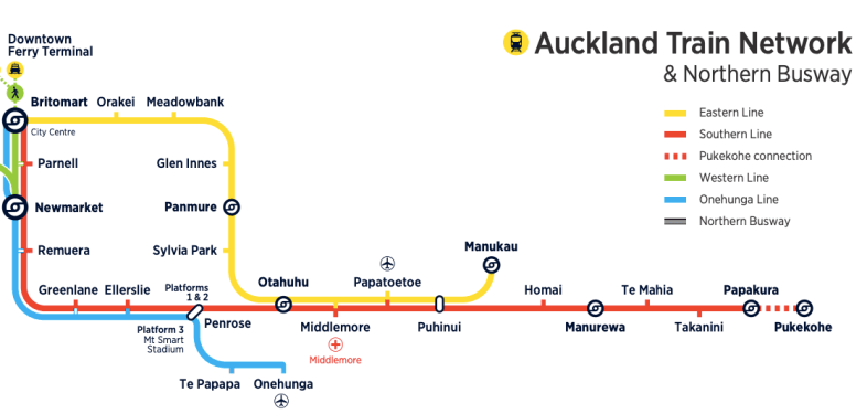 Auckland Train Network