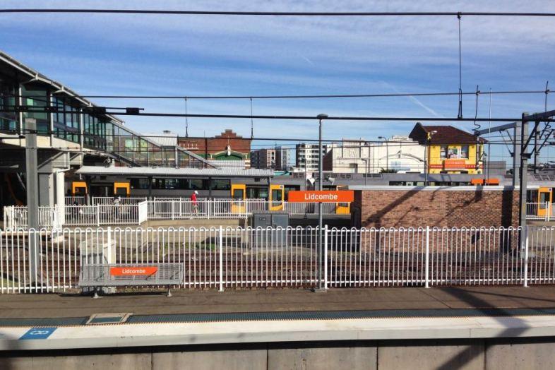 Lidcombe station