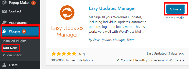 How to Disable Automatic Updates in WordPress Website