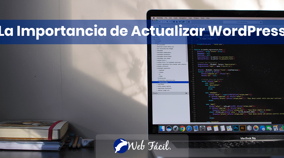 La Importancia de Actualizar WordPress