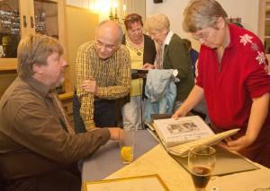 Diskussion über Dorfgeschichte