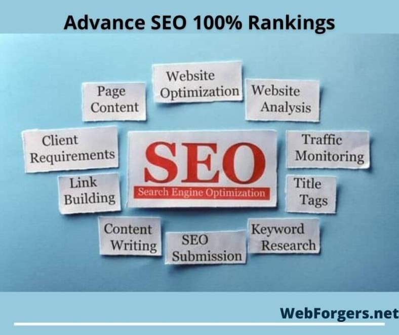 SEO (Search engine Optimization) WebForgers.net