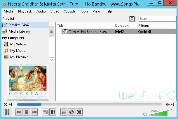 Free download latest vlc player setup