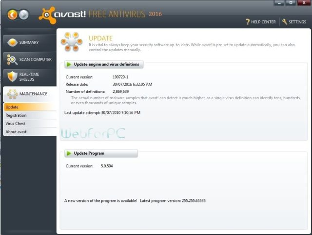 Avast Free Antivirus 11.1.2253 Latest Setup Download