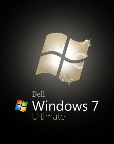 Dell Windows 7 Ultimate logo