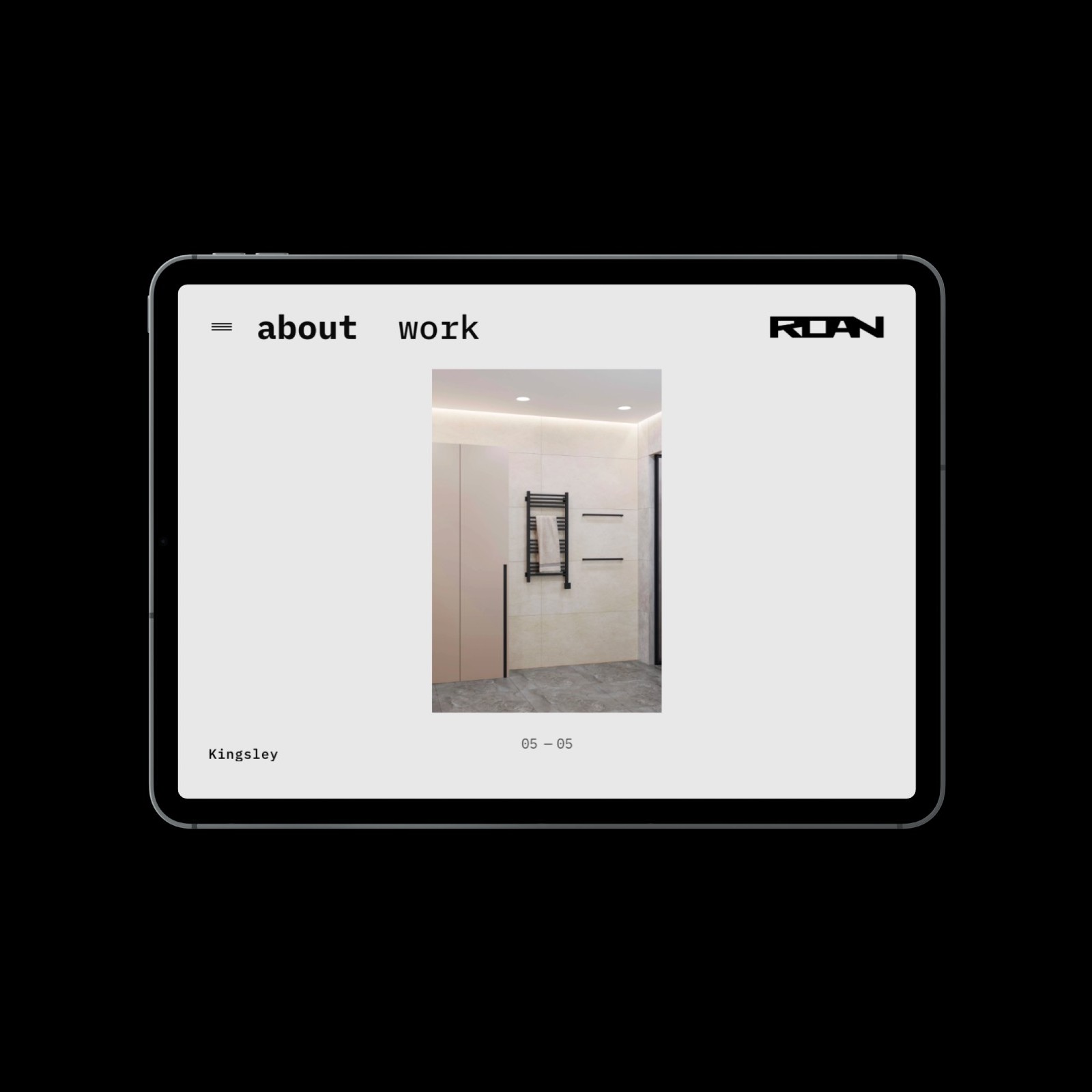 Westmount Website Redesign Tablet