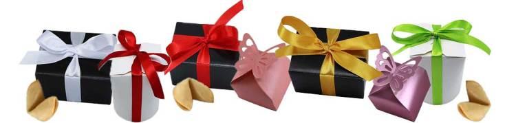Eine assende Geschenkverpackung für Glückskekse kaufen
