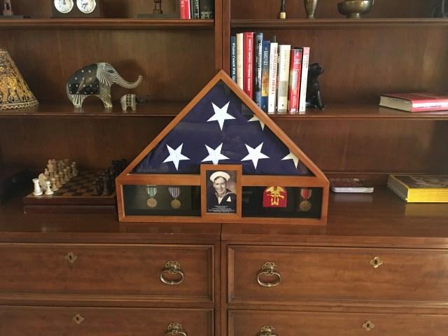 Raymond Goad Honor Flag