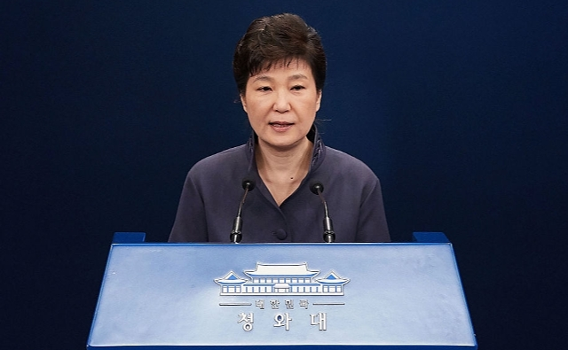 パククネ前大統領、罷免 – Park Geun Hye dismissal to the President