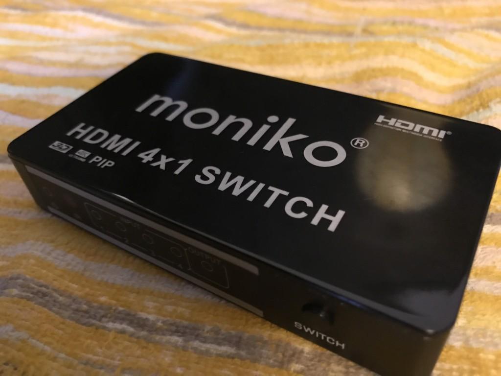 お悩み解決!4機器対応、AmazonでHDMI切替器を選ぶならコレだ!