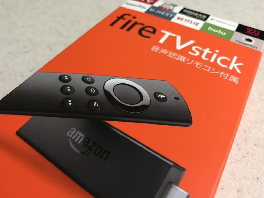 Fire TV Stick (Newモデル)…思ったより良い!音声認識リモコン付き