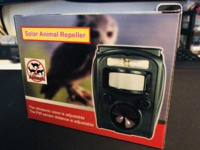 鳥の糞害、害獣避けに自動動物撃退器をAmazonで!糞害対策グッズ