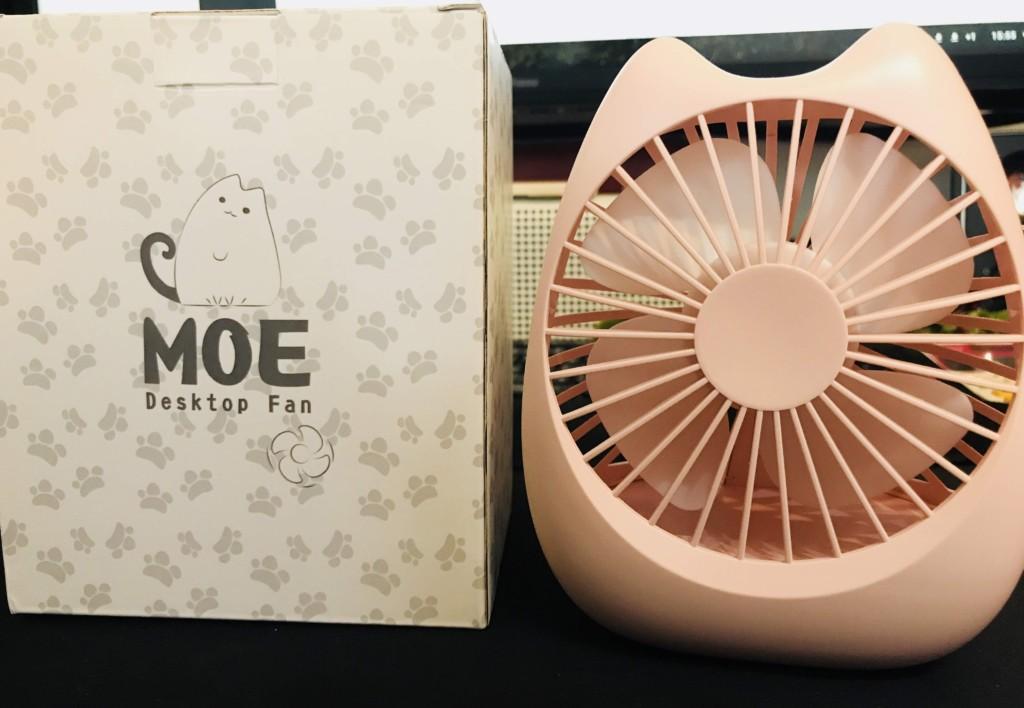 萌えニャンコ扇風機〜夏の暑さを吹き飛ばす、ネコ型卓上扇風機