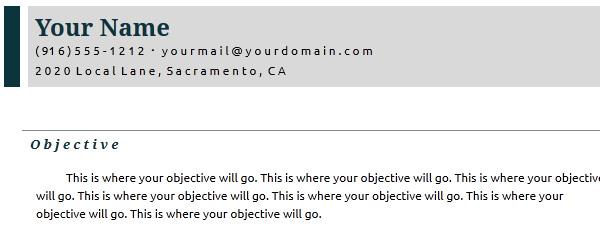 Google Docs Resume Templates Free. 6 Google Docs Templates Resume