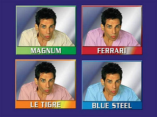 Four faces of Zoolander