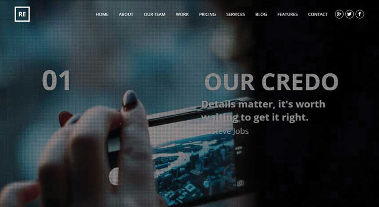10 Best WordPress Business Parallax Themes In 2017