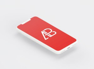 Clay iPhone 8 Mockup PSD Free Download