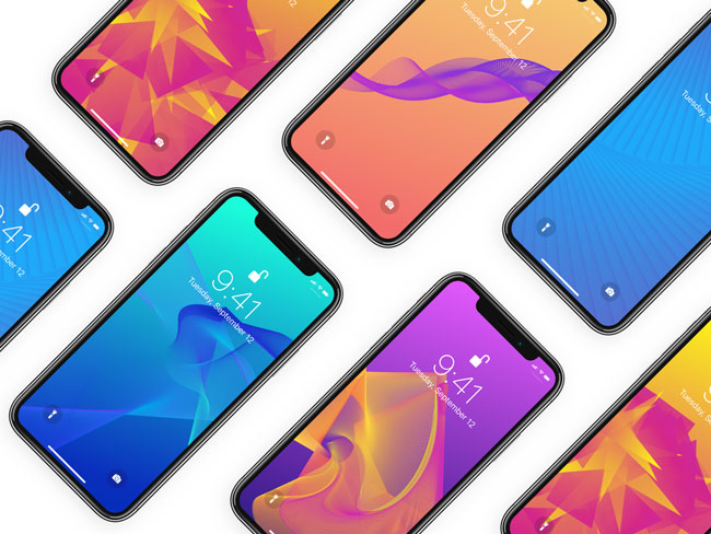 Looper Wallpapers Pack For iPhone X, 8 and 8 Plus
