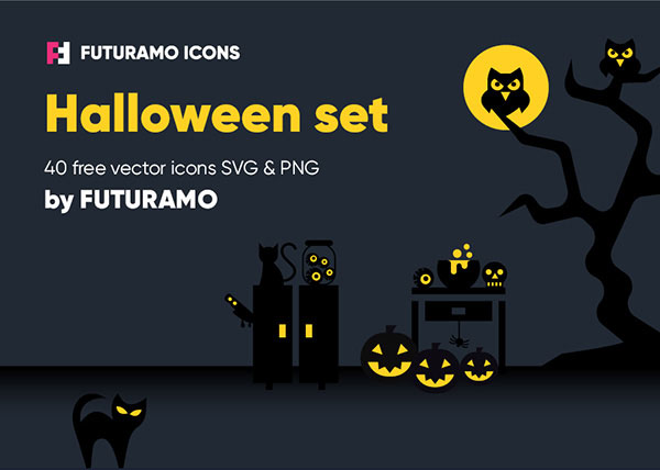 Beautiful Halloween Icons Free Download In PNG & SVG Format