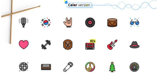 Music Genres Icon Set Download Free