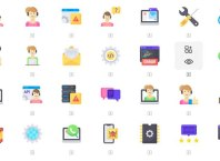 50 Tech Support Icons Set Download For Free