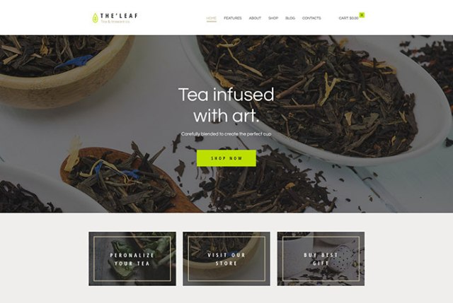 tea WordPress theme