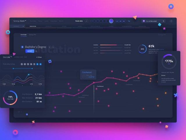 Beautiful Gradient Dashboard UI Designs