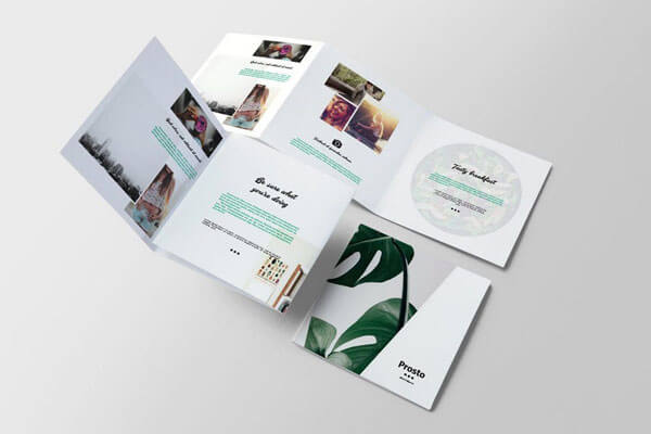 12 Best Tri-Fold Brochure Templates For InDesign 2018