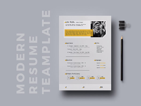10 brilliant resume templates free download in 2018