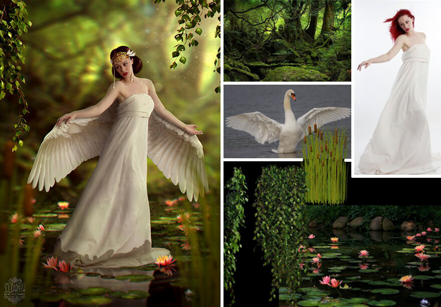 angel image manipulation