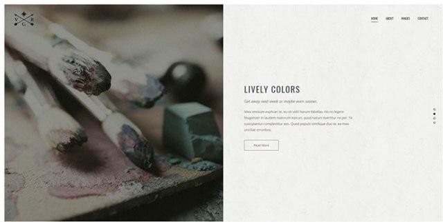 beautiful Portfolio WordPress Themes