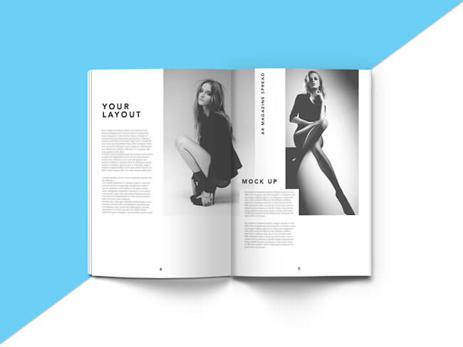 Realistic Magazine Mockup Templates Free Download