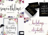Beautiful Handwritten Fonts Collection