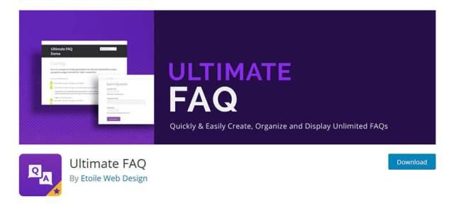 free wordpress faq plugin