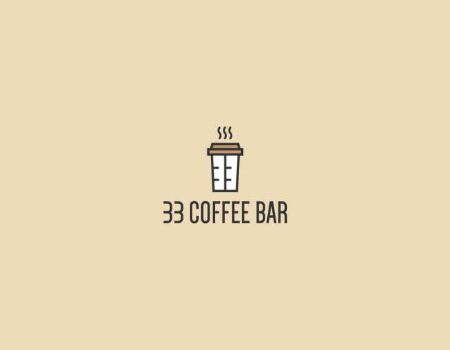 coffee bar creative logo